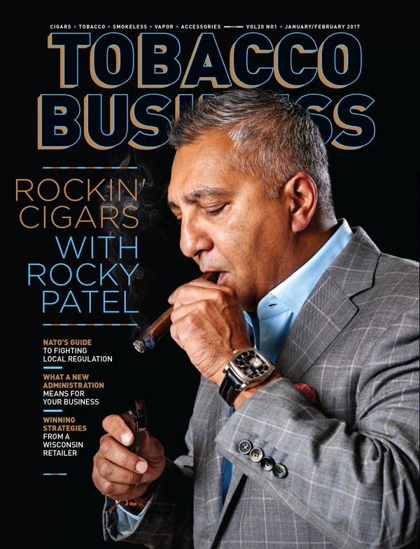 Tobacco Business Magazine - Rocky Patel