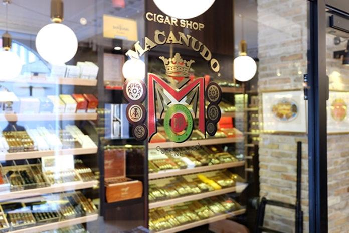 Cigar Shop Macanudo   Ph: Scandinavian Tobacco Group