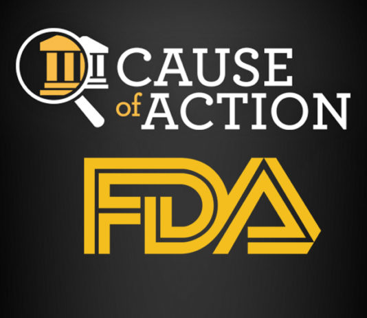 Cause of Action Institute FDA