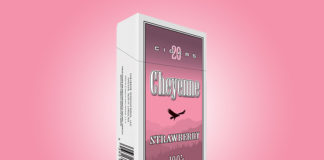 Cheyenne Cigars Strawberry 100's
