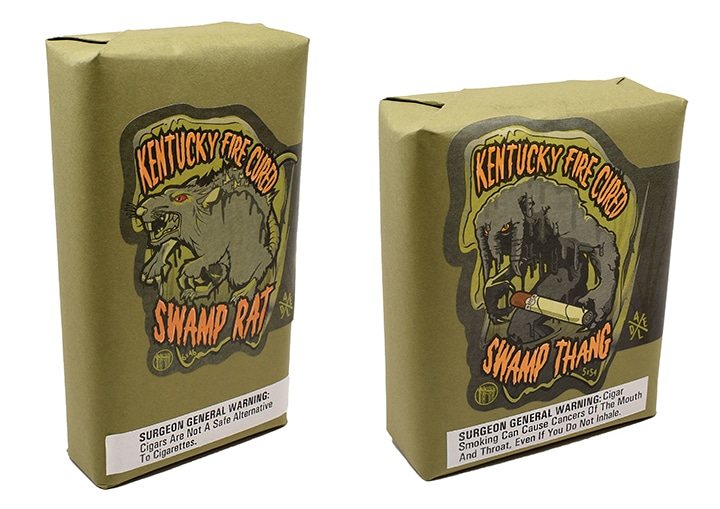 Swamp Thang and Swamp Rat