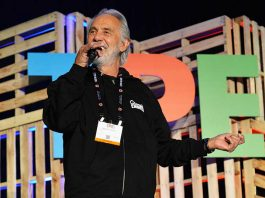 Tommy Chong at Tobacco Plus Expo 2017