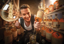 Sebastien Derbomez Brand Ambassador for Monkey Shoulder