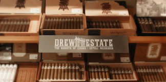 Drew Estate Shelf Talker 2017