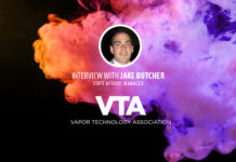 Jake Butcher, Vapor Technology Association