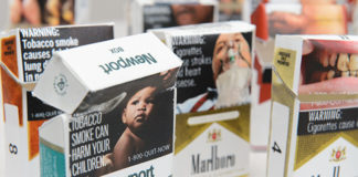 Pictorial Graphic Labels Cigarettes
