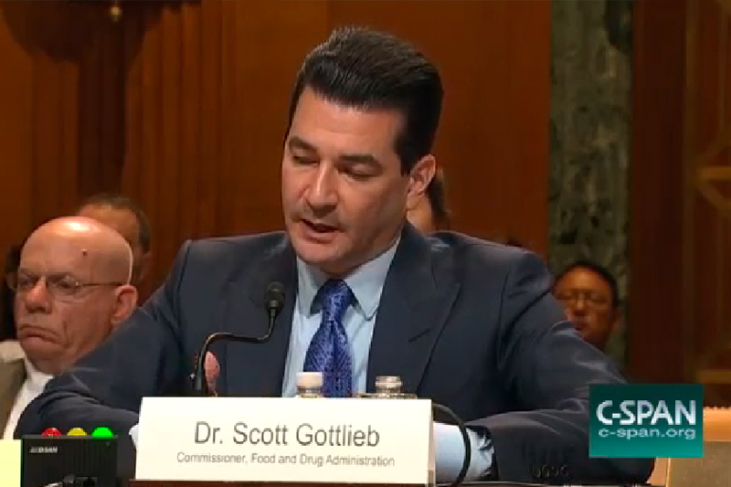 scott gottlieb comments on fda regulations on premium cigars