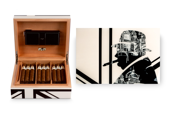 Winston Churchill London Humidor by Davidoff