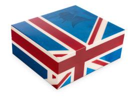 Davidoff Winston Churchill Union Jack Humidor