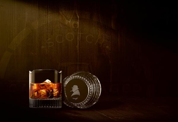 Winston Churchill Whisky Glass