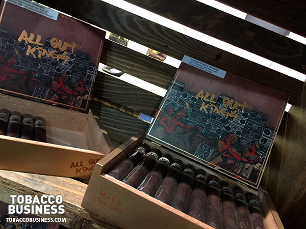 Caldwell Cigar Company All Out Kings IPCPR 2017