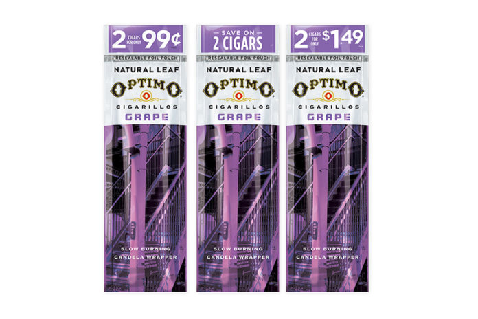 Optimo Grape Cigarillos