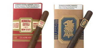 Drew Estate Launches Exclusive Undercrown Maduro and and Herrera Estelí Cuadrado at JR Cigar