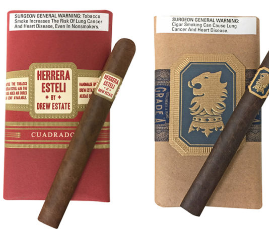 Drew Estate Launches Exclusive Undercrown Maduro and and Herrera Estelí Cuadrado at JR Cigar