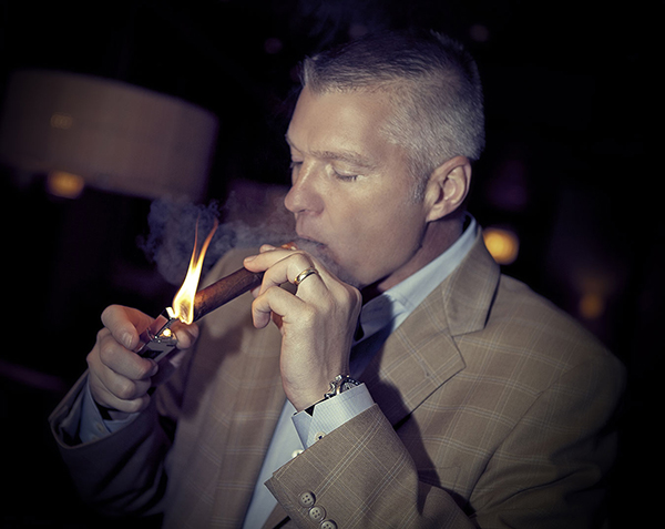 Glen Case, President of Kristoff Cigars