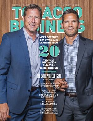 Tobacco Business Magazine November/December 2017
