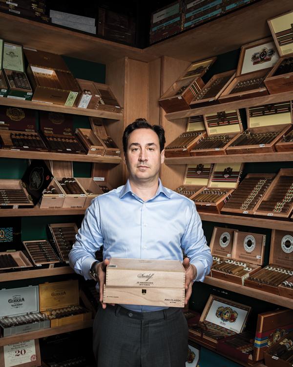 David Weiss, Lone Wolf Cigar Lounge