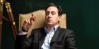 David Weiss of Lone Wolf Cigar Lounge