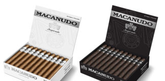 General Cigar Macanudo White and Black