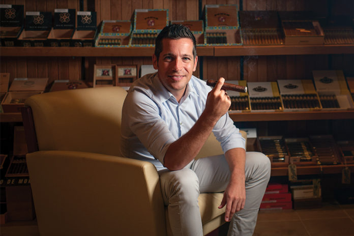 Regis Broersma, President of General Cigar