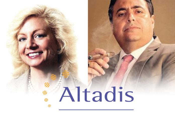 Janelle Rosenfeld and Rafael Nodal | Altadis USA