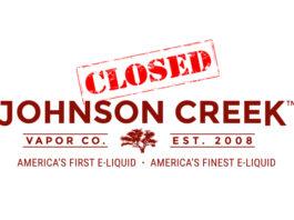 Johnson Creek Enterprise Vapor Closes