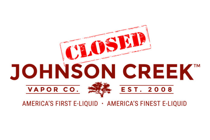 Johnson Creek Enterprise Vapor Closes