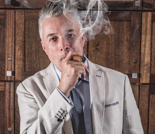 Orion Armstrong of Cigar Company & Barbershop in Toronto
