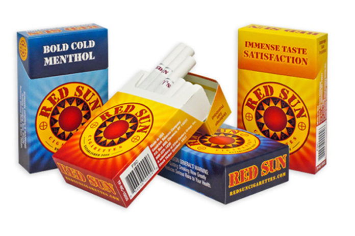 22nd Century Group Discontinues Red Sun Cigarettes