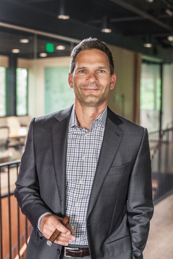 Sean Knutsen, CEO and President of Boveda