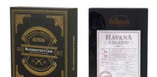 Gurkha ships Havana Legend and Blendmaster's Cask