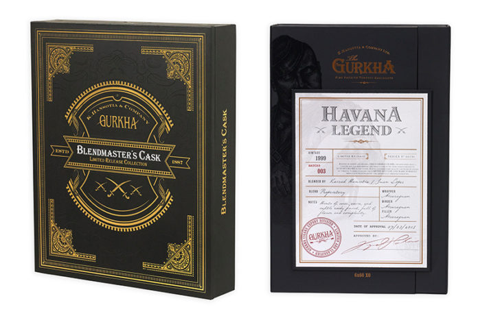Gurkha ships Havana Legend and Blendmaster's Cask