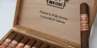 Herrera Esteli Inktome Exception at Small Batch Cigar