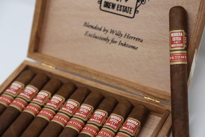 Herrera Esteli Inktome Exception at Small Batch Cigar
