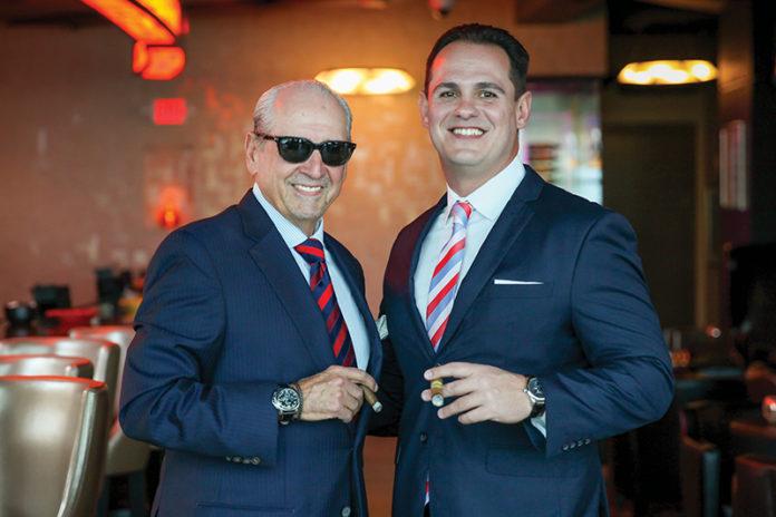 Nestor Miranda and Jason Wood of Miami Cigar & Co.