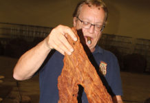 Mark Ryan of Daughters & Ryan Handling Perique Tobacco