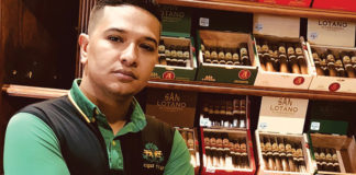 Starky Arias, Marketing Director for AJ Fernández Cigar Company