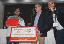 Ghousobi, Niels Fredericksen and Marko Bilic Cigar Smoking World Championship