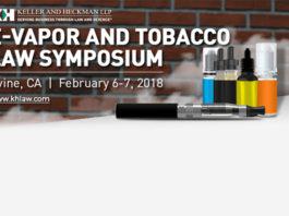 E-Vapor and Law Symposium 2018