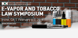 E-Vapor and Law Symposium 2018