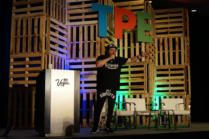 Jonathan Drew Delivers Keynote at Tobacco Plus Expo (TPE) 2018 in Las Vegas