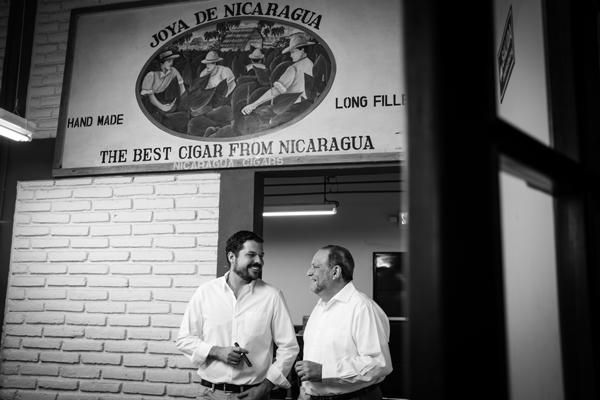 Joya de Nicaragua's Juan Martínez and Dr. Alejandro Martínez Cuenca