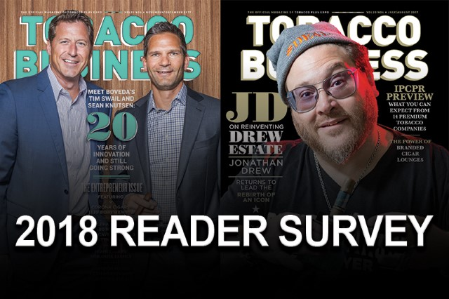 Tobacco Business 2018 Reader Survey
