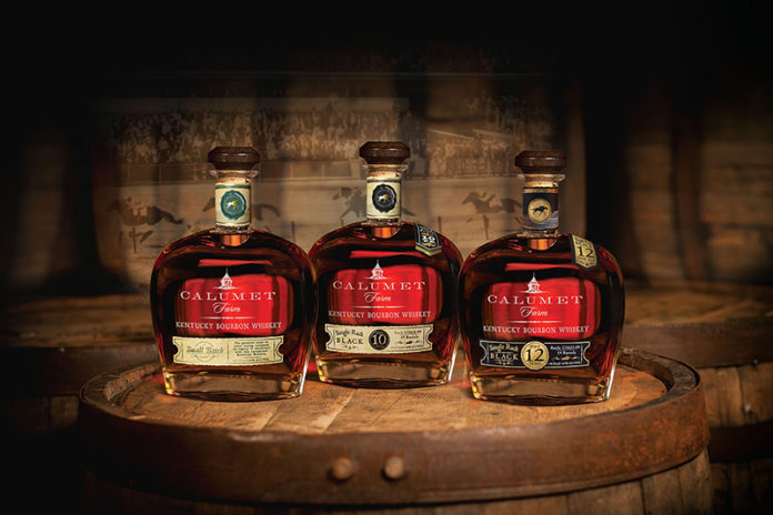 Calumet Farm 12-Year-Old Single Rack Black Bourbon