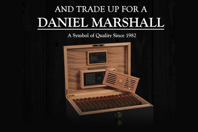 Daniel Marshall Cash for Clunkers Humidor Program