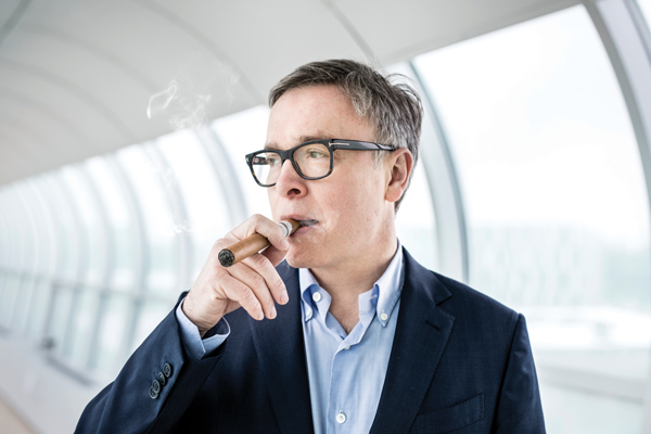 Niels Frederiksen, CEO of Scandinavian Tobacco Group