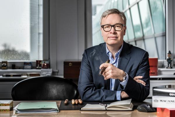 Niels Frederiksen, CEO of Scandinavian Tobacco Group