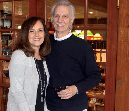 Gary and Barbara Kolesaire of Tobacco Shop of Ridgewood in NJ