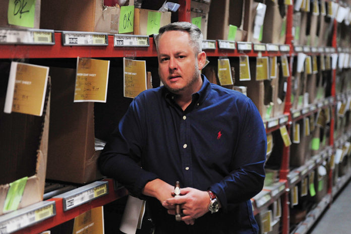 Dylan Austin, VP of Sales and Marketing at Davidoff of Geneva USA