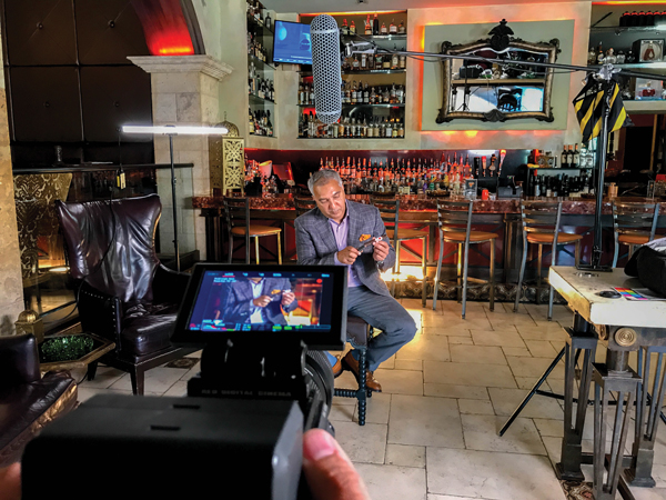 Rocky Patel in Hand Rolled: A Film About Cigars